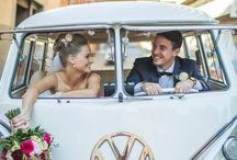 VW Combi Wedding
