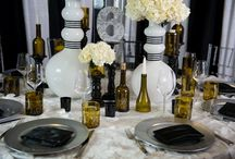 Wine Decor at Weddings / See how Refresh Glass can help complete your perfect day