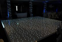 White Starlit Dance Floors / Our beautiful LED Starlit Dance Floors bring a focal point to any function room, instantly giving your event that 'wow' factor.