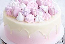 торт безе декор