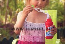 Crochet - wearable child