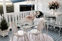 Dream Home / A collection of feminine home decor, garden and patio ideas in the for the girly girl.