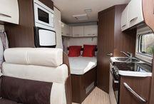 Motor home interiors