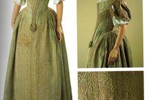 17th century dress