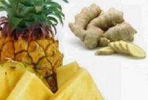 Abacaxi e gengibre