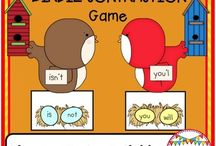 Phonics Games for Literacy Centers / Engaging games that help kids practice needed reading skills in a fun way!
