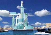 Futurisztikus Városok,épületek / Futurisztikus városok,helyek,épületek lélegzet elállító képei.