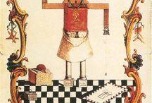 Masonic Art (Colors) / Masonic Art & Masonic Motifs in Art.