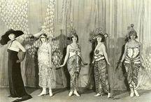 1910s fashion show