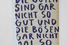 Zitate / Sprüche