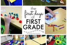 1st grade blogs/advice/set up/etc