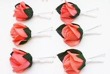 Real Touch Boutonnieres and Corsages / Keepsake flowers for your family and friends!