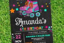 Rollerblade invite