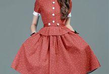 Retro sukienki