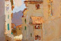 Town paintings