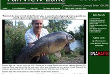 YORKSHIRE, UK. / Carp Fishing Lakes and Venues Situated in Yorkshire, United Kingdom.