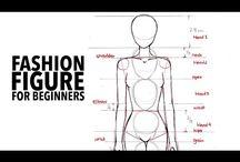 Beginners fashion figure