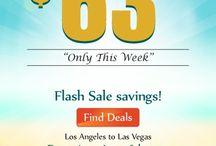 Flights Deals / Get Heavy Discount on Domestic & International Flights.