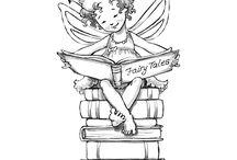 obrázky - víly a andílci