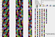 Häkelkette über 10 Farben