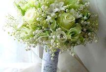 Trouwen - bloemen en corsages