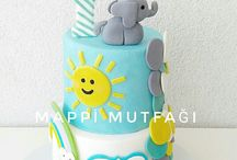 yenilebilir sanat ( şeker hamuru pasta ) / https://www.instagram.com/mappi.mutfagi/