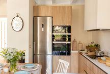 Cocinas con personalidad / Existen cocinas para todo tipo de hogar, cocinas minimalistas, rústicas para espacios limitados... Este tablero es perfecto para coger ideas.