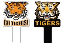 Tigers- Show Your Stripes! / School Spirit Store offers thousands of great Custom Mascot ideas with your school/team name/logo and in your colors!!. Great Tiger Shaped Keytags, Pencils, Magnets, Cheer Sticks and Mitts and  Beanies too! Visit us www.schoolspiritstore.com for more information.  Go Tigers!