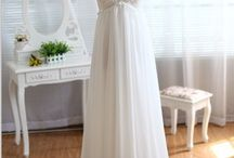 pregnant wedding dress
