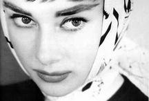 Audrey  / Audrey Hepburn / by Circe Rafaela Teixeira