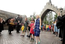 Wizarding World of Harry Potter grand opening at Universal Studios Japan / From the evening pre-opening celebration on July 14 and the opening moment on July 15, 2014. Photos courtesy Universal Studios Japan.