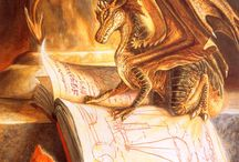 Dragons and books