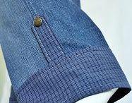 удлиняем джинсы