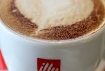 Love coffee / In reference to coffee Illy for Le Méridien but also : coffee Art, people taking coffee, coffee bars, original recipes,cappuccino...