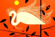 Charley Harper / Charley Harper (August 4, 1922 - June 10, 2007) was a Cincinnati-based American Modernist artist. He was best known for his highly stylized wildlife prints, posters and book illustrations.