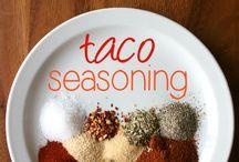 Recipes - Spices & Seasonings