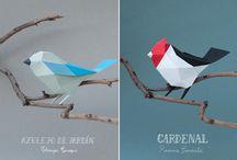 Geometriske fugle