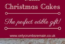 Christmas Baking / Christmas themed bakes from more traditional bakes like Mince Pies to fun decorated Christmas cakes & everything in between.