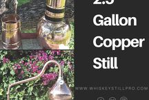 2.5 Gallon Copper Still / This still comes with the 2 year guarantee period. For any malfunctioning or defects, get it replaced with the new one in guarantee period. Relish the birthday parties, Christmas and special events with homemade spirit flavors.