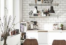 Mid-century kitchens