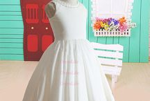 Girls dresses / Little girl dress for weddings