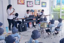 Jazz Day 2016 / On Jazz Day, Wednesday May 25, we had a fabulous visit during lunchtime from Secondary students who played three songs for us in the middle of the canteen. The students loved it and we are hoping that next year there may be a few more surprise visits.