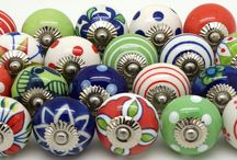 Stunning sets of Door Knobs - Competition Winning Names / Stunning sets of Unique hand painted ceramic door knobs designed by These Please and named by our customers