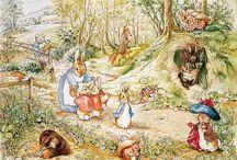 Beatrix Potter / Beatrix Potter nasceu 150 anos atrás, hoje em 28 de julho de 1866. Conhecida como uma das mais amadas autores infantis do mundo, com seus contos belamente ilustrado, mais de dois milhões de livros de Beatrix Potter são vendidos a cada ano com as gerações ainda seguindo as aventuras de Peter coelho, Jemima Puddle-Duck, Tom Kitten e Benjamin Bunny.