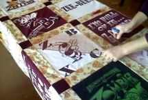 T-shirt quilt tutorial / by Miriam Langford
