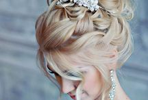 Wedding Hairstyles/Makeup