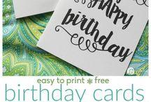 DIY greetings cards