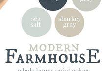 Paint colours & palettes (for decorating)