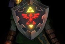 The legend of Zelda Rüstung und Waffen