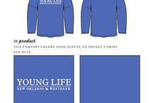 Young Life / Young Life custom shirt designs #younglife #yl  For more information on screen printing or to get a proof for your next shirt order, visit www.jcgapparel.com